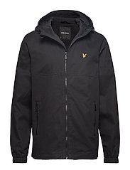 Cotton Twill Jacket - TRUE BLACK