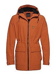 Micro Fleece Lined Jacket - TOBACCO