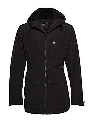 Micro Fleece Lined Jacket - TRUE BLACK