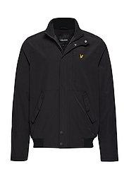 Panelled Jacket - TRUE BLACK