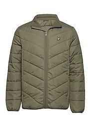 Puffer Jacket - OLIVE