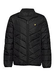 Puffer Jacket - TRUE BLACK