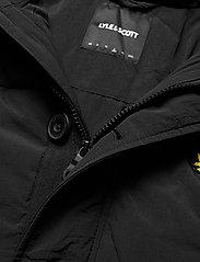 Lyle & Scott - Heavyweight Longline Puffer Jacket - kurtki puchowe - jet black - 4