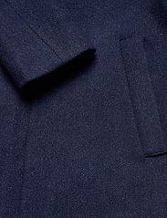 Lyle & Scott - Herringbone Wool Jacket - wool jackets - dark navy/ indigo - 3