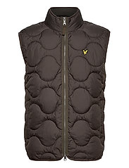 Wadded Gilet - W123 TREK GREEN