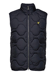 Wadded Gilet - Z271 DARK NAVY