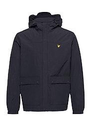 Hooded Pocket Jacket - DARK NAVY