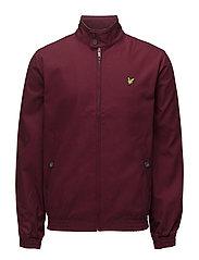 Harrington jacket - CLARET JUG
