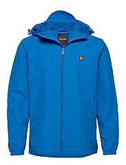 Zip Through Hooded Jacket - BRIGHT COBALT