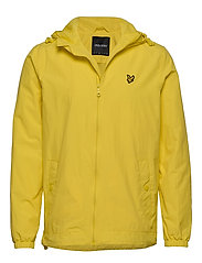 Zip Through Hooded Jacket - BUTTERCUP YELLOW