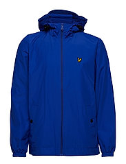 Zip Through Hooded Jacket - DUKE BLUE