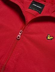 Lyle & Scott - Zip Through Hooded Jacket - vestes légères - gala red - 3