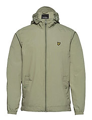 Zip Through Hooded Jacket - MOSS