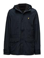 Microfleece lined jacket - NAVY JACKET