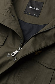 Lyle & Scott - Field Jacket - light jackets - olive - 3