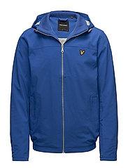 Jersey Lined Soft Shell Jacket - LAKE BLUE