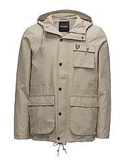 Hooded Jacket - LIGHT STONE
