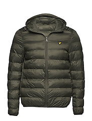 Lightweight Puffer Jacket - DARK SAGE