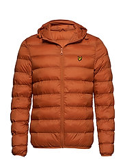 Lightweight Puffer Jacket - TOBACCO