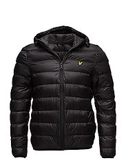 Lightweight Puffer Jacket - TRUE BLACK