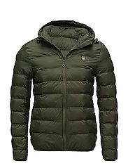 Lightweight Puffer Jacket - WOODLAND GREEN