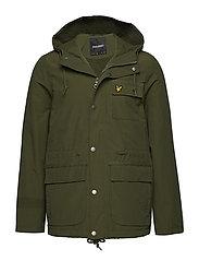 Micro Fleece Lined Jacket - WOODLAND GREEN