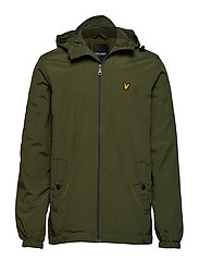 Microfleece Lined Zip Through Jacket - WOODLAND GREEN