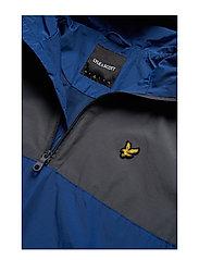 Lyle & Scott - Colour Block 1/4 Zip Jacket - anorakit - anthracite - 4