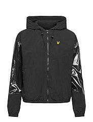 Zip Through Jacket - JET BLACK