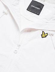 Lyle & Scott - Track Jacket - hættetrøjer - white - 2