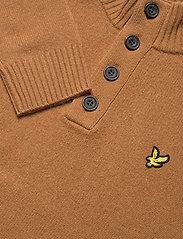 Lyle & Scott - Funnel Neck Knit Jumper - tricots basiques - w281 tawny brown - 2