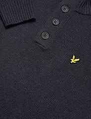 Lyle & Scott - Funnel Neck Knit Jumper - tricots basiques - z56 dark navy marl - 2
