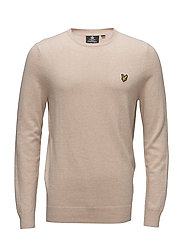 Cotton Merino Crew Jumper