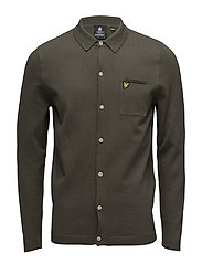 Knitted Shirt - OLIVE