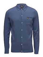 Knitted Shirt - STORM BLUE MARL