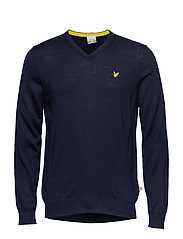 Bowmont: V Neck Pullover
