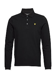 LS Polo Shirt - JET BLACK
