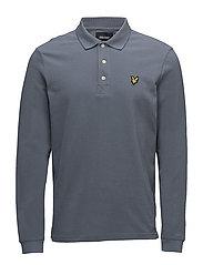 LS Polo Shirt - MIST BLUE