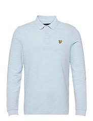 LS Polo Shirt - DECK BLUE