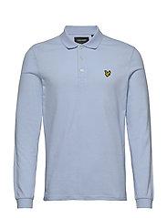 LS Polo Shirt - POOL BLUE