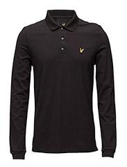 LS Polo Shirt - TRUE BLACK
