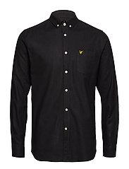 Stonewash Shirt - TRUE BLACK