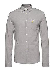 Oxford Pique Shirt - DOLPHIN GREY