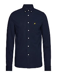 Oxford Pique Shirt - NAVY