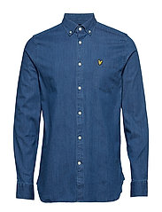 Regular Fit Denim Shirt - LIGHT INDIGO