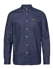 Mottled Shirt - NAVY