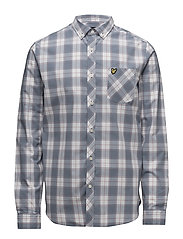 Check Shirt - DUSK BLUE