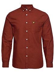 Oxford Shirt - BRICK RED