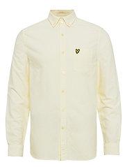 Oxford Shirt - BUTTERCREAM/ WHITE