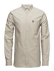 Oxford Shirt - LIGHT STONE